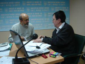 Дискусії під час іспиту: Ігор Сидорко та Олександр Заїка