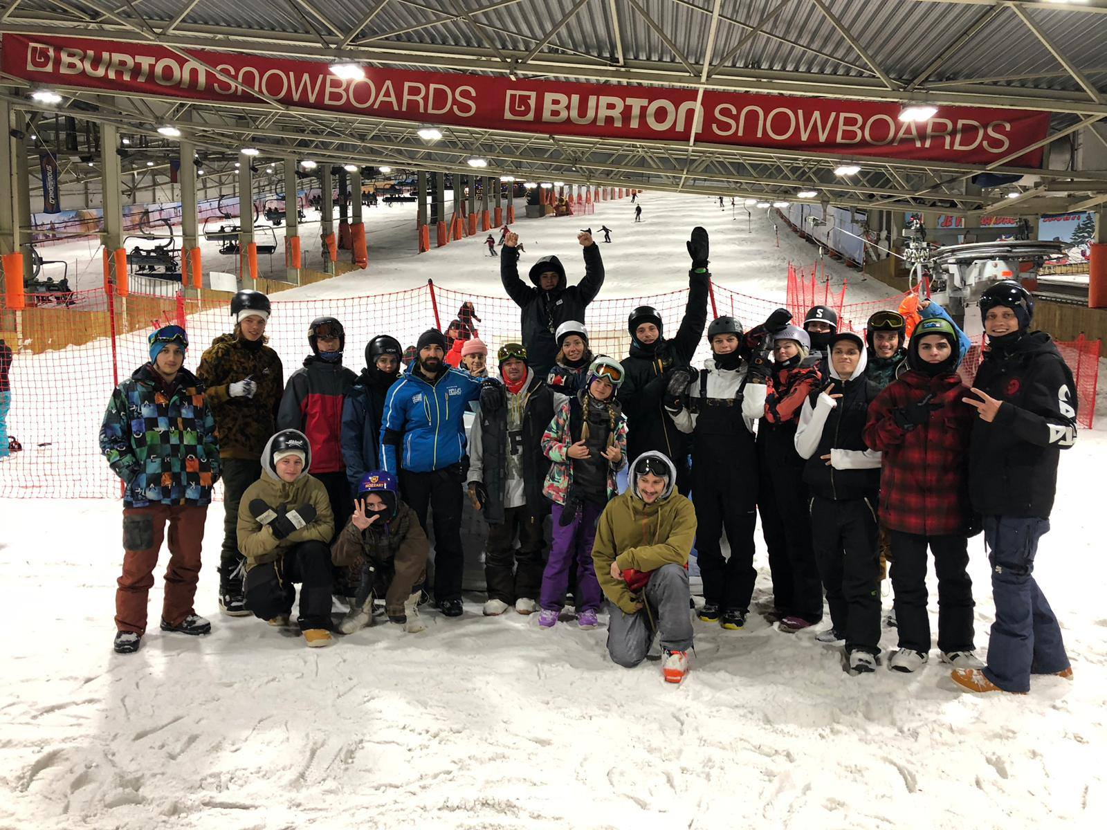 FIS Park&Pipe Training Camp